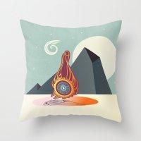 zodiac Throw Pillows featuring The zodiac by /CAM