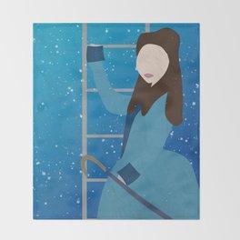 Souffle Girl, Clara Oswin Oswald - Doctor Who Throw Blanket