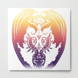 Sunrise Bahamut Metal Print