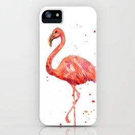 Flamingo, Pink Flamingo, Tropical, bird art, Florida iPhone Case