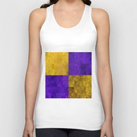 lakers Tank Tops featuring LA-kers by Ramo