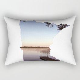 Lake Minnesota Rectangular Pillow