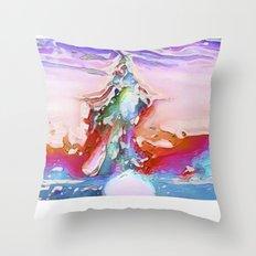 Plaster Throw Pillow
