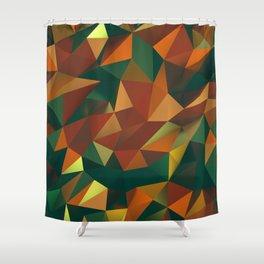 Polygonal Jammer Shower Curtain