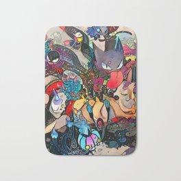 Ghost-type poket monster Bath Mat
