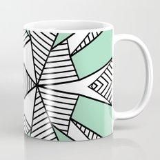 Triangle Tribal Mint Mug