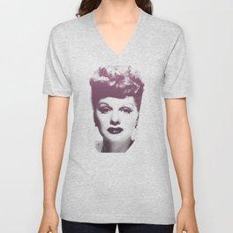 Lucille Ball Unisex V-Neck