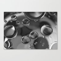 bubbles Canvas Prints featuring Bubbles by Fine Art by Rina