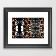 OR/WELL:  darkCHIP (laptop) Framed Art Print