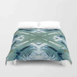 Into the Forest (Green) Duvet Cover