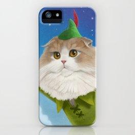 Peter Pan Cat iPhone Case