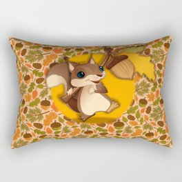 Wandering in the Autumn Rectangular Pillow