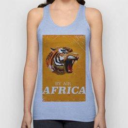 African Roar Unisex Tank Top