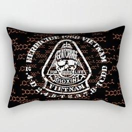 Agent Orange Rectangular Pillow
