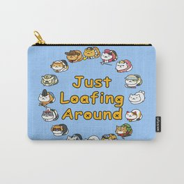 Just Loafing Around Carry-All Pouch