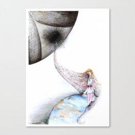 Delete Canvas Print