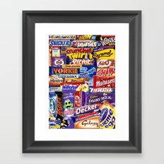 Choccymadness Framed Art Print