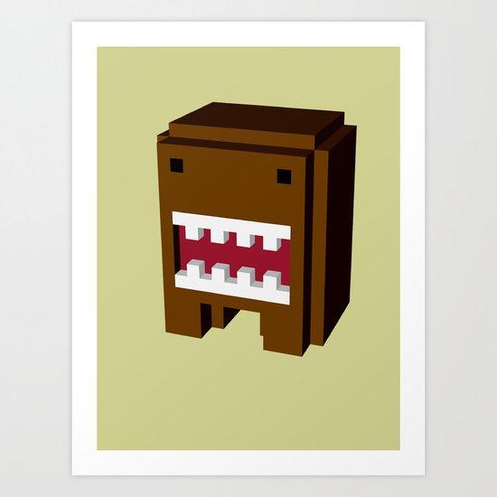 japan monster Art Print