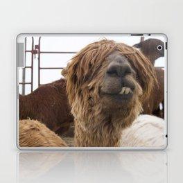 Fluffy Grin Laptop & iPad Skin