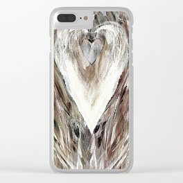 Heart & SoulMate Clear iPhone Case