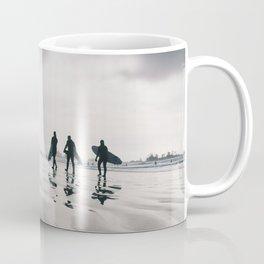 Tofino surfers Coffee Mug