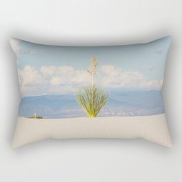 White Sands, No. 3 Rectangular Pillow