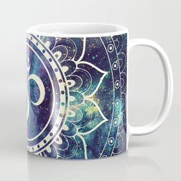 Om Mandala : Deep Pastels Galaxy Coffee Mug