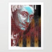 dali Art Prints featuring DALI by michael pfister