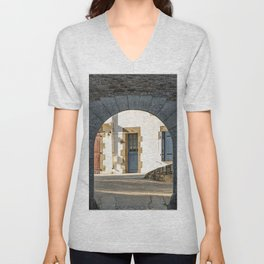 The Arch and the House Unisex V-Neck