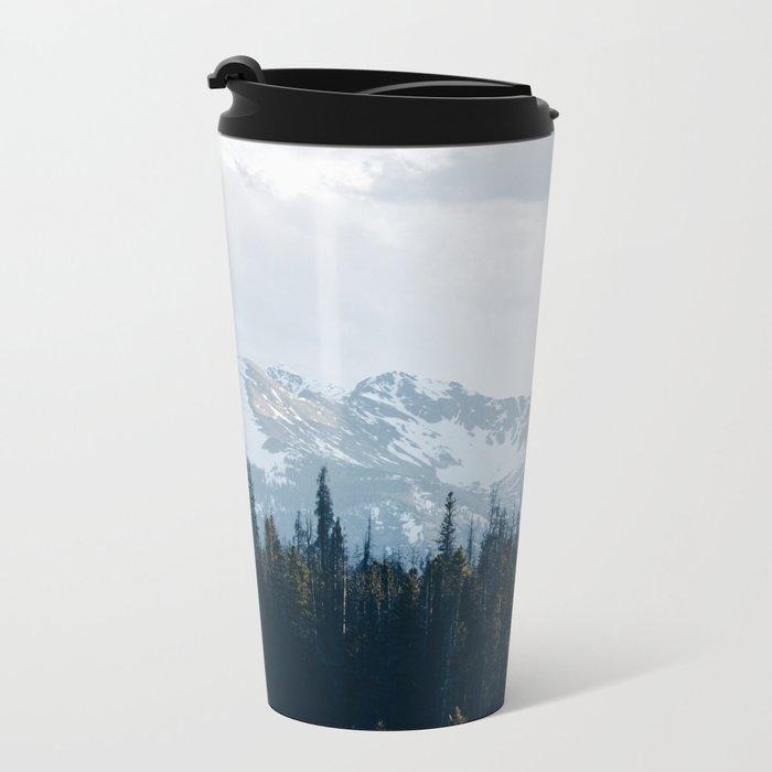 Canadian Mountains -Banff, Alberta Metal Travel Mug