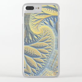 Tessellations Clear iPhone Case