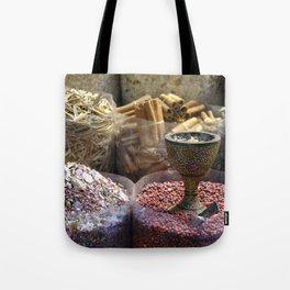 Spice souk Dubai Tote Bag