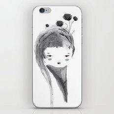 Dark Poppies iPhone & iPod Skin