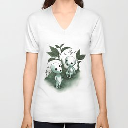 Natural Histories - Forest Spirit studies Unisex V-Neck