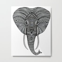 Love for the Elephants Metal Print