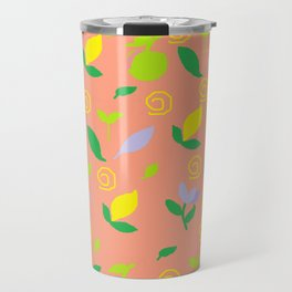 Snails and Citrons-Rug Travel Mug
