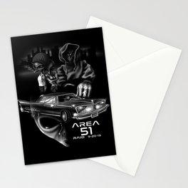 Area 51 Raid / Alien Lowrider Stationery Cards