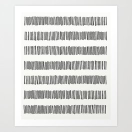 Striped Universe Art Print