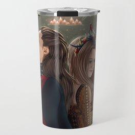 Clexa Medieval AU Travel Mug