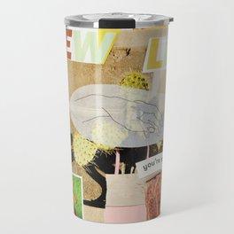 a new leaf Travel Mug