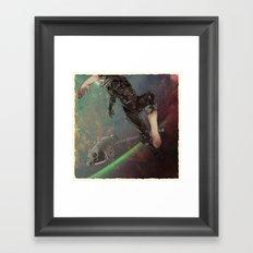Bodies in Space: Ebullism Framed Art Print