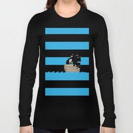 Pirates Love Stripes Long Sleeve T-shirt