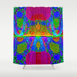 Dippy Doodle Shower Curtain