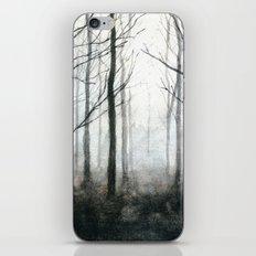 fog among the trees iPhone & iPod Skin