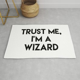 Trust me I'm a wizard Rug