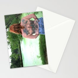 Waiting for Her Merman Stationery Cards