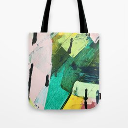 Hopeful[4] - a bright mixed media abstract piece Tote Bag