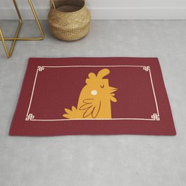 Cluck You Rug