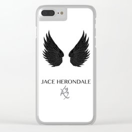 The Mortal Instruments Jace Clear iPhone Case