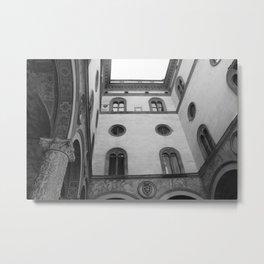 Palazzo Vecchio courtyard Metal Print